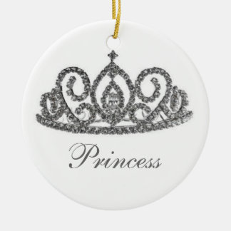 Royal Wedding/Bride's Tiara Ceramic Ornament