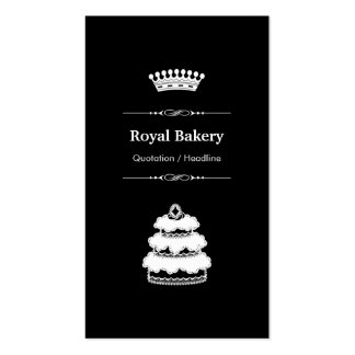 Royal Wedding Cake - Professional Royal Crown Business Card Templates