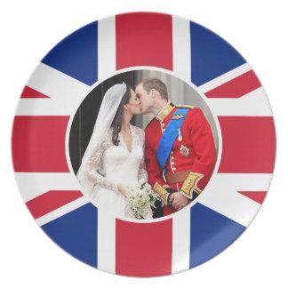 Royal Wedding Dinner Plates