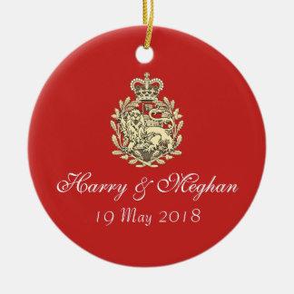 Royal Wedding Harry and Meghan Keepsake Ornament