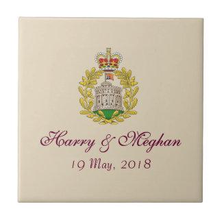 Royal Wedding Harry & Meghan Keepsake Gift Tile