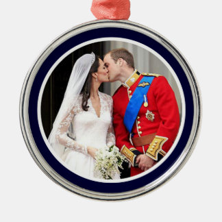 Royal Wedding Metal Ornament
