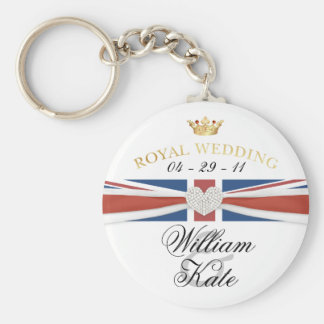 Royal Wedding - Prince William Kate Collectibles Keychain