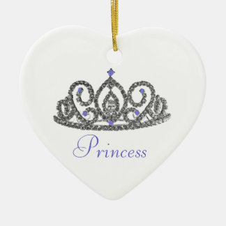 Royal Wedding/Princess Ceramic Ornament
