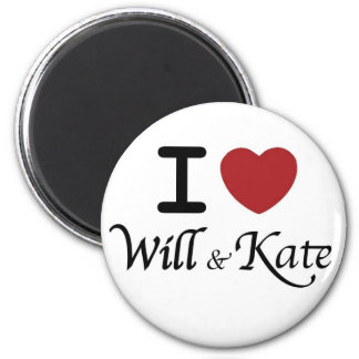 Royal Wedding Souvenirs for William and Kate Magnet