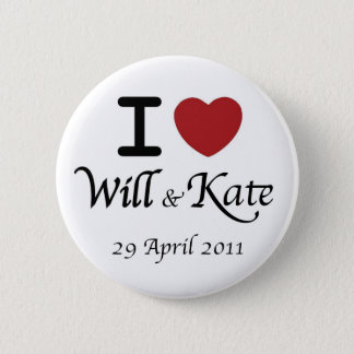 Royal Wedding William and Kate Button