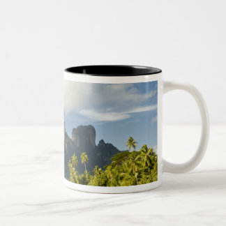 Royale honeymoon over-the-water suite at Bora Two-Tone Coffee Mug