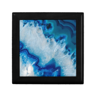 Royally Blue Agate Gift Box