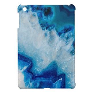 Royally Blue Agate iPad Mini Cover