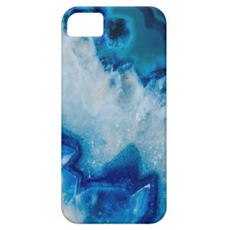 Royally Blue Agate iPhone 5 Case