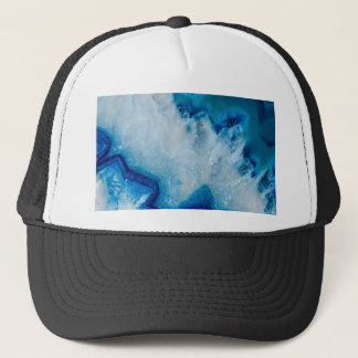 Royally Blue Agate Trucker Hat