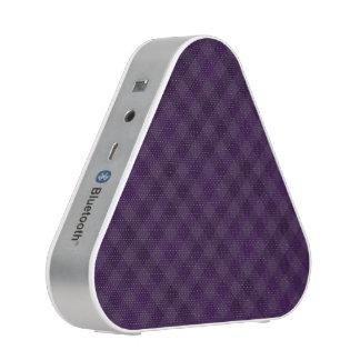 Royally Purple in Plaid Blueooth Speaker