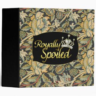 Royally Spoiled Princess Vinyl Binder