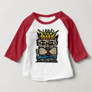 """Royalty"" Baby 3/4 Raglan T-Shirt"