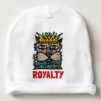 """Royalty"" Baby Cotton Beanie Baby Beanie"