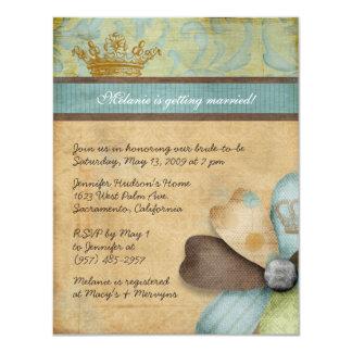 Royalty Bridal Shower Invitations
