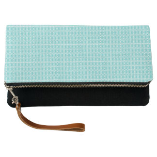 Royalty-Fabric's-Aqua-Perfect-Sueded_Multi-Colors Clutch