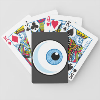 Royalty-Free-RF-Copyright-Safe-Blue-Eye-Ball EYEBA Bicycle Playing Cards