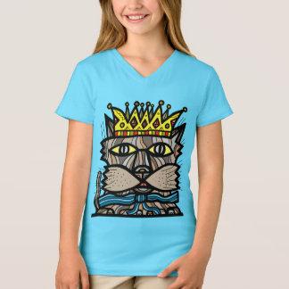 """""""Royalty"""" Girls' V-Neck T-Shirt"""