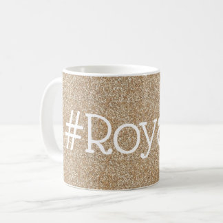 #Royalty Gold Sparkle Mug