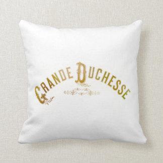 Royalty Grand Duchess Grande Duchesse Throw Pillow