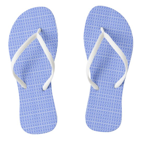 Royalty-Plaid-Blue(C)Multi-Styles Flip Flops