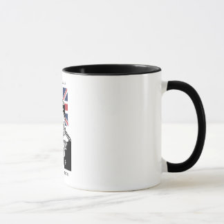 Royalty Rules - King Edward the VII Ringer Mug