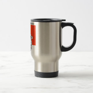 Royalty Rules King Leopold II -Stainless Steel Mug