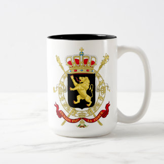 Royaume de Belgique - Koninkrijk België Two-Tone Coffee Mug