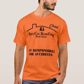 RoyCo Roofing - Chad's work shirt