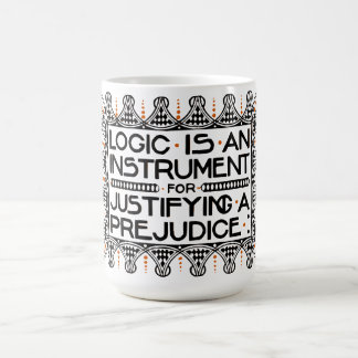 "Roycroft Motto Mug, ""Logic is an Instrument"" Coffee Mug"