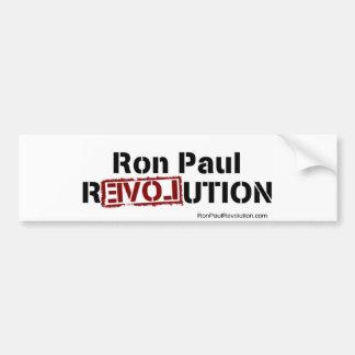RP revolution bumber sticker Bumper Sticker