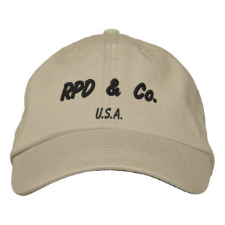 RPD & Co Embroidered Baseball Cap