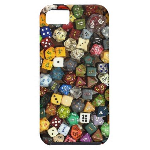 RPG game dice iPhone 5 Case