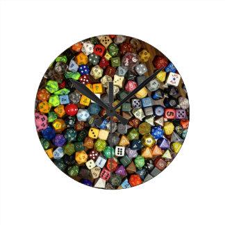 RPG game dice Clocks