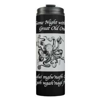 RPG Gamer Cthulhu Thermal Tumbler