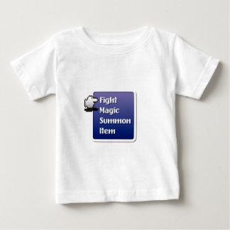 RPG Menu T-shirt Pour Bébé