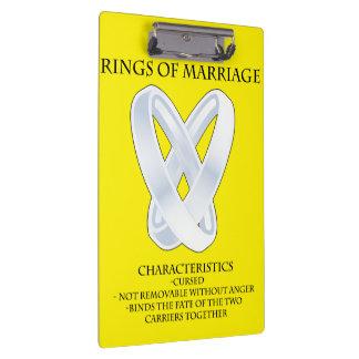 RPG_Rings of marriage Clipboards