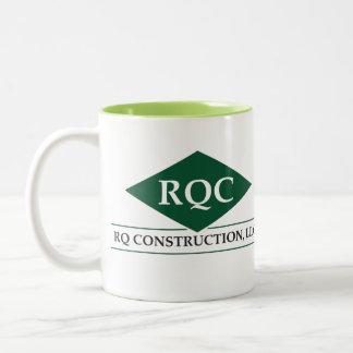 RQ Two Tone Mug in Light Green