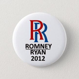 RR Romney Ryan '12 2 Inch Round Button