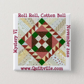 RRCB 2 INCH SQUARE BUTTON