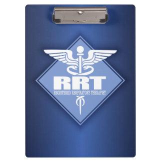 RRT Registered Respiratory Therapist Clipboards