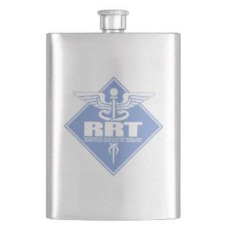 RRT Registered Respiratory Therapist Hip Flask