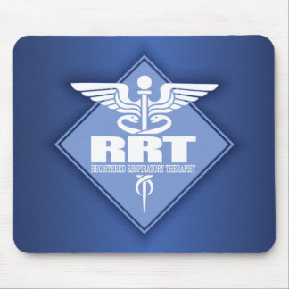 RRT Registered Respiratory Therapist Mouse Pad