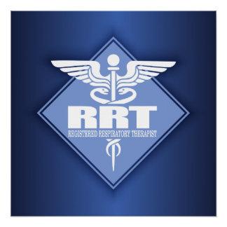 RRT Registered Respiratory Therapist Perfect Poster
