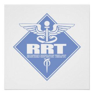 RRT Registered Respiratory Therapist Poster
