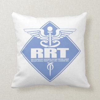 RRT Registered Respiratory Therapist Throw Pillow