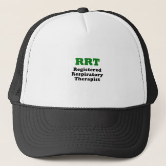 RRT Registered Respiratory Therapist Trucker Hat