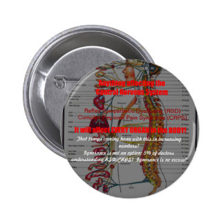 RSD-CRPS-Affects every system AND troops 2 Inch Round Button