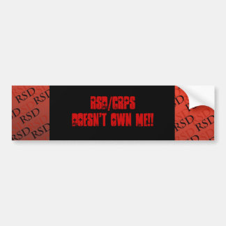 RSD/CRPS Doesn't Own Me Sticker